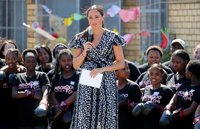 Meghan urges girls to 'keep pushing forward' in Instagram video