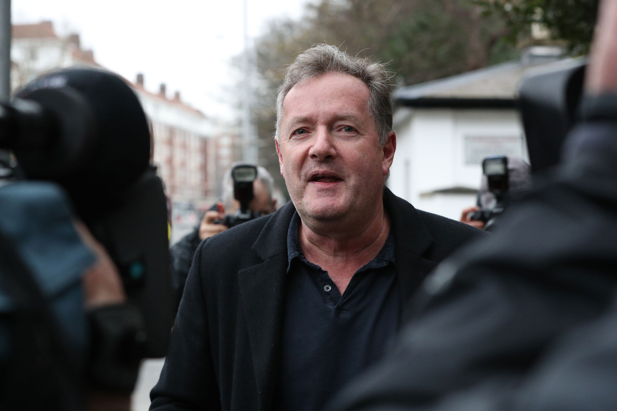 UK media regulator clears Piers Morgan over his comments about Meghan