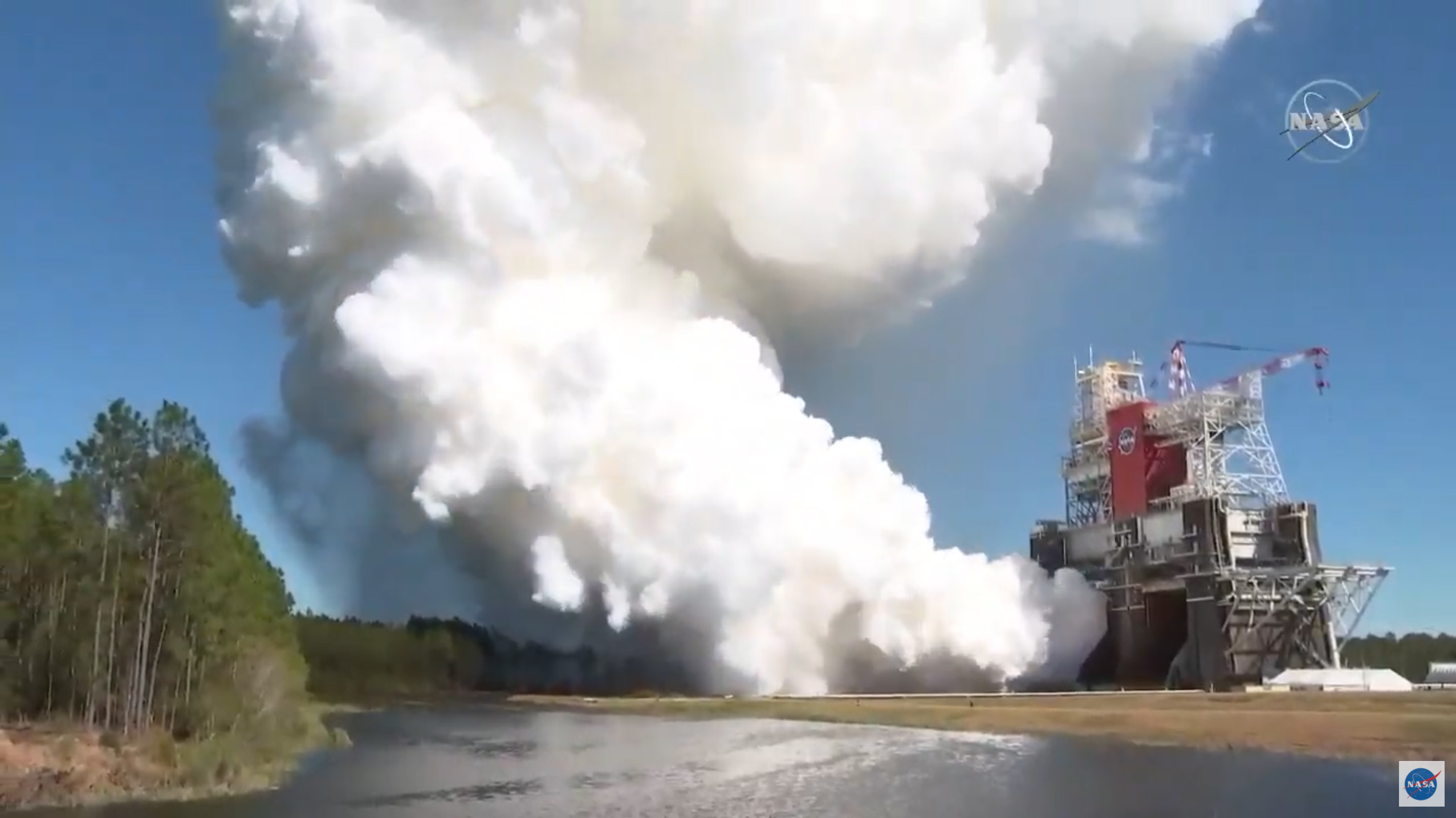 NASA successfully tests SLS rocket that will help Artemis astronauts reach the moon