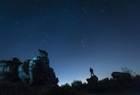 The Orionid meteor shower will peak early this week