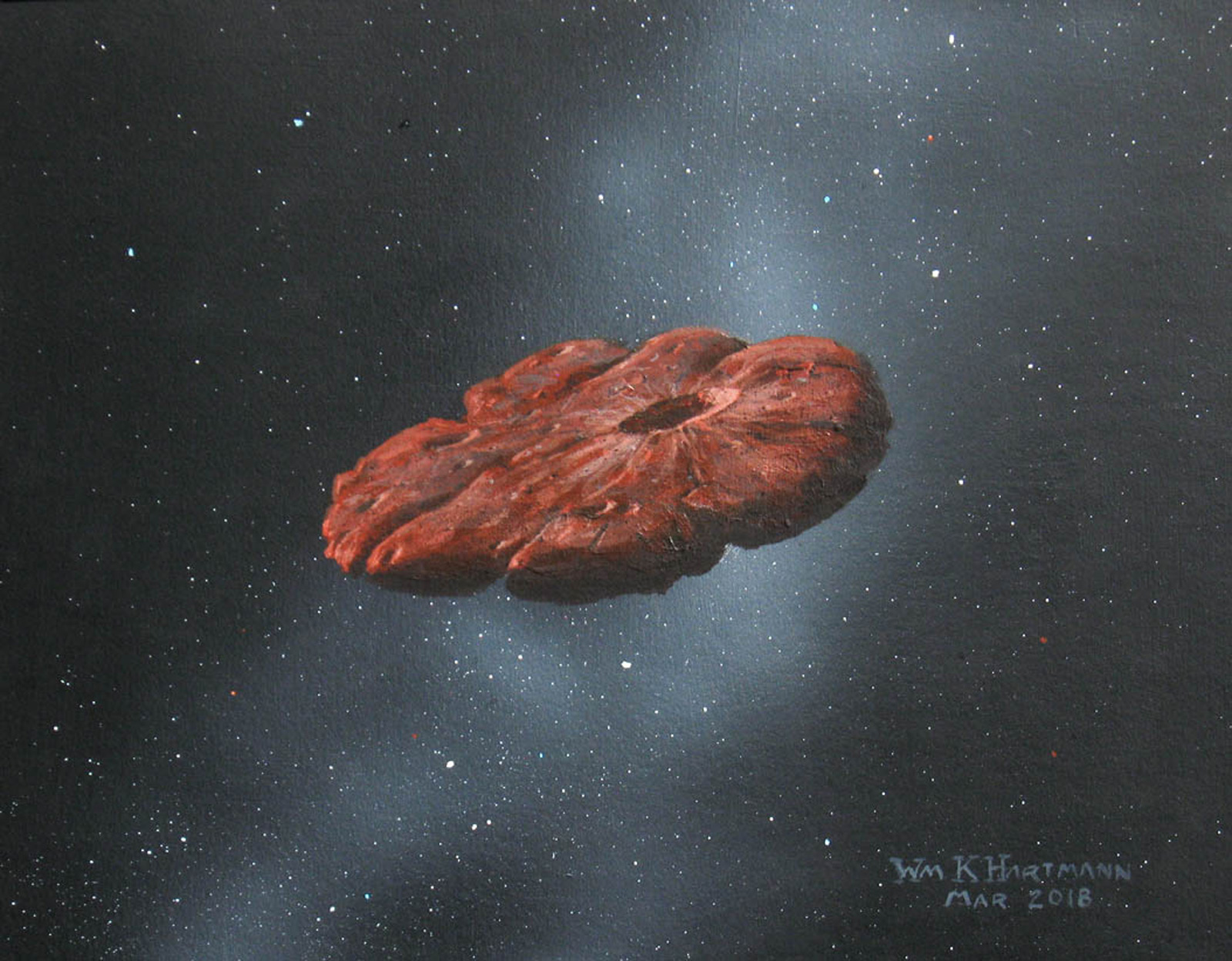Interstellar object ʻOumuamua may be a fragment of Pluto-like planet