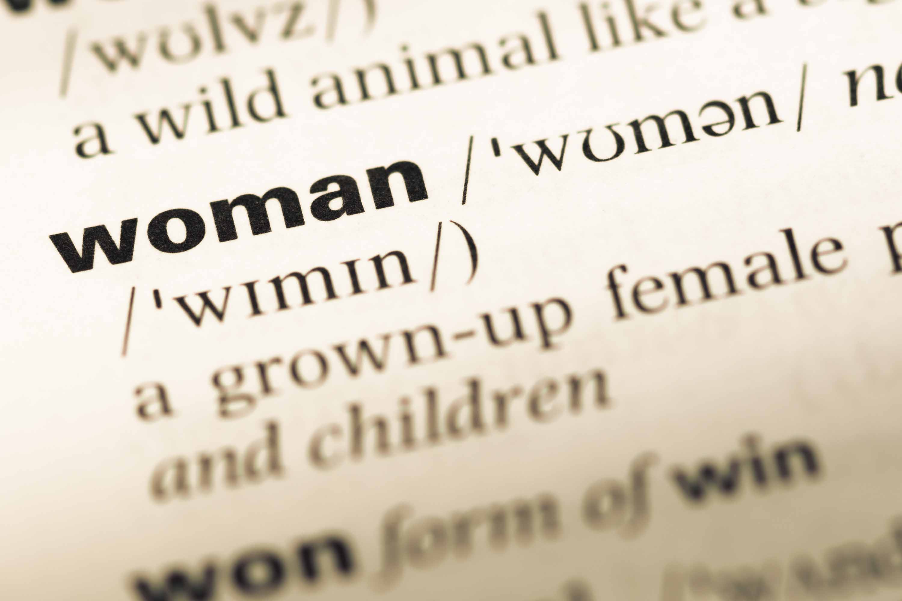 Oxford dictionaries change 'sexist' and outdated definitions of the word 'woman'