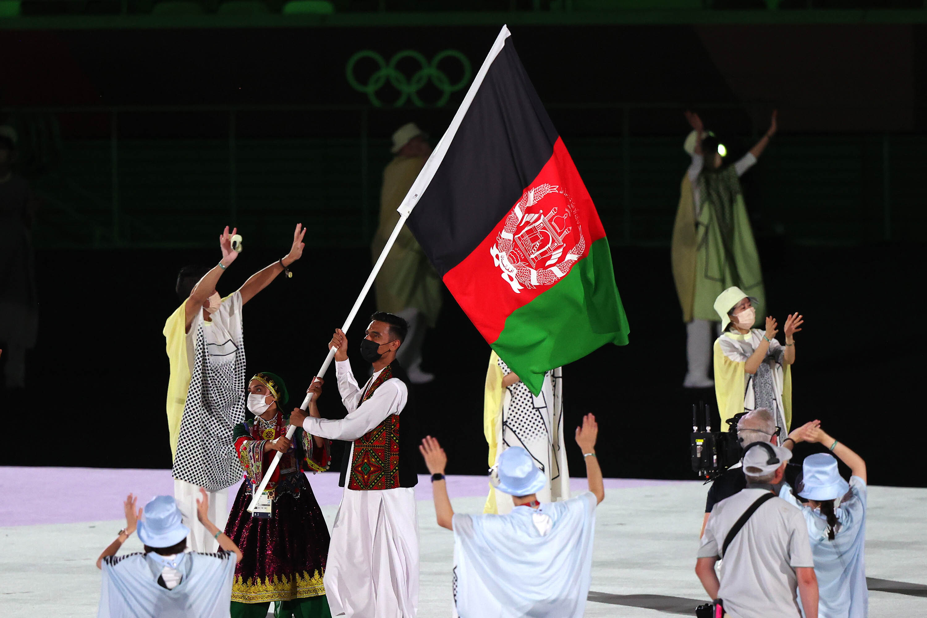 Afghanistan flag to feature in Paralympic opening ceremony as a show of 'solidarity'