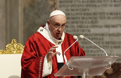 Image for Pope Francis condemns death of George Floyd, calls US unrest 'disturbing'