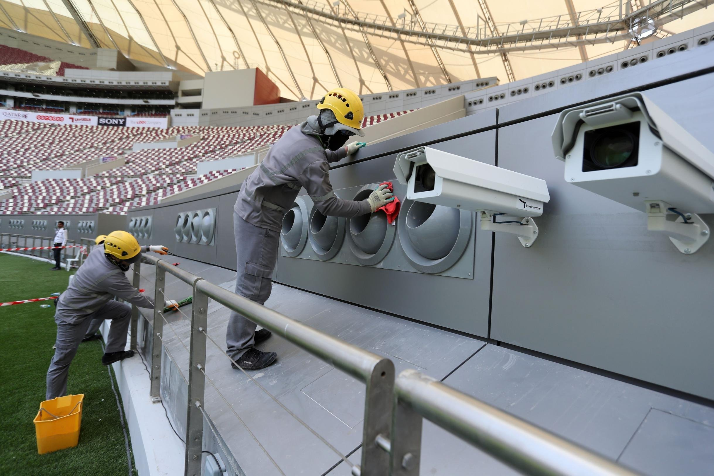Qatar 2022: Professor defends stadium cooling method