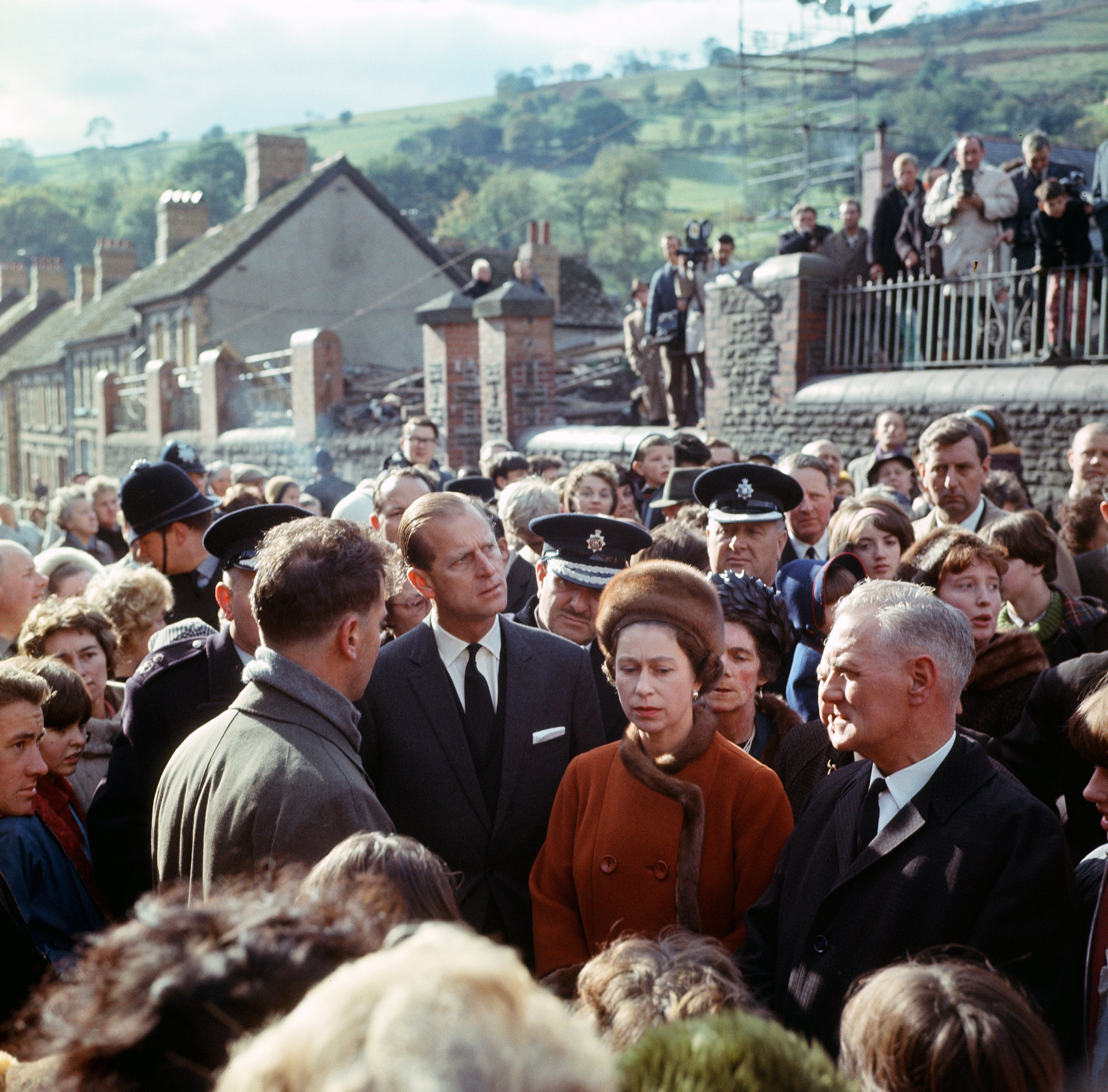 What was the Aberfan disaster, seen in 'The Crown' episode 3?