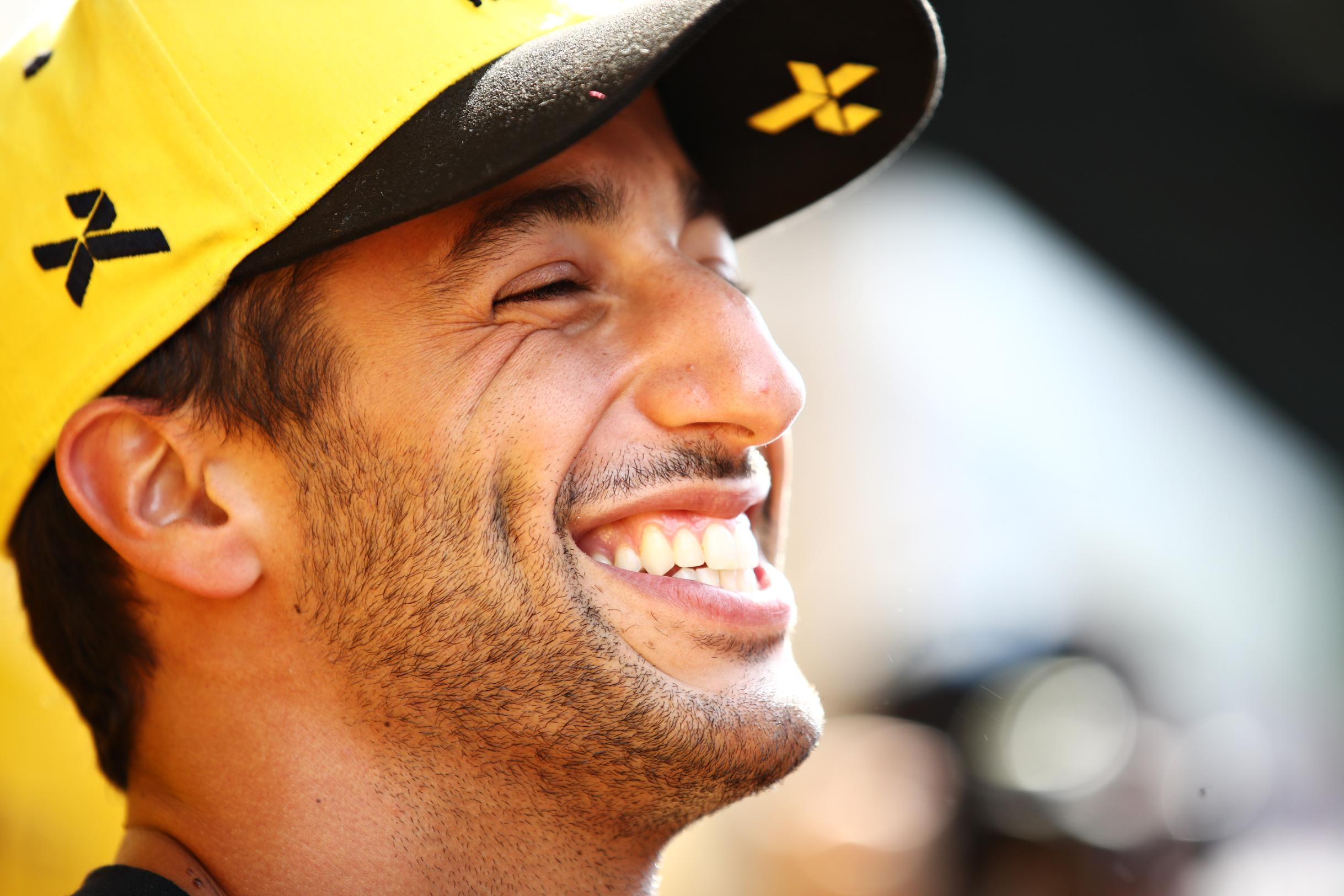 Formula One star Daniel Ricciardo goes from the fast lane to the farmyard