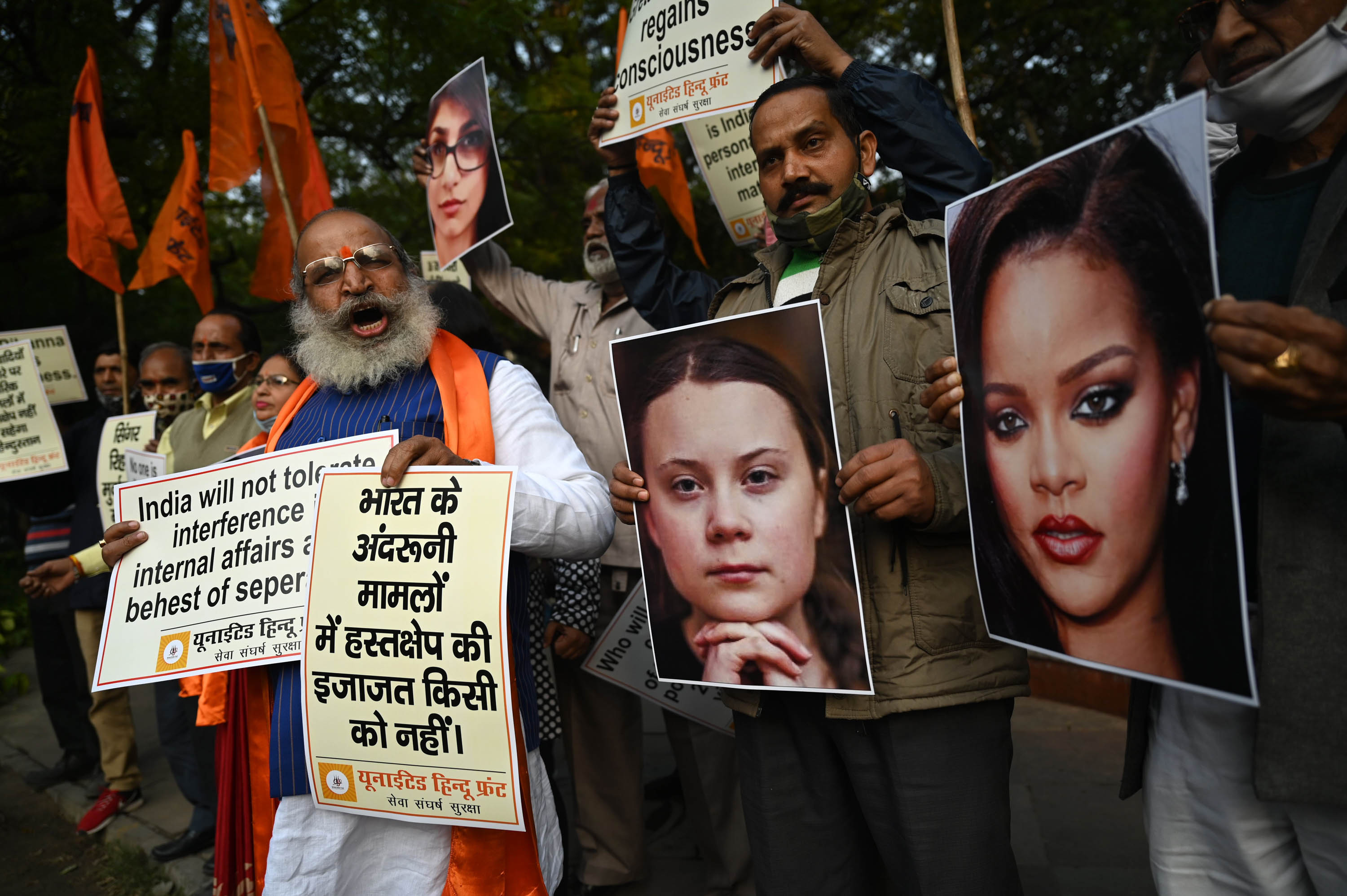 Rihanna's call to support Indian farmers quickly embraced by other celebrities