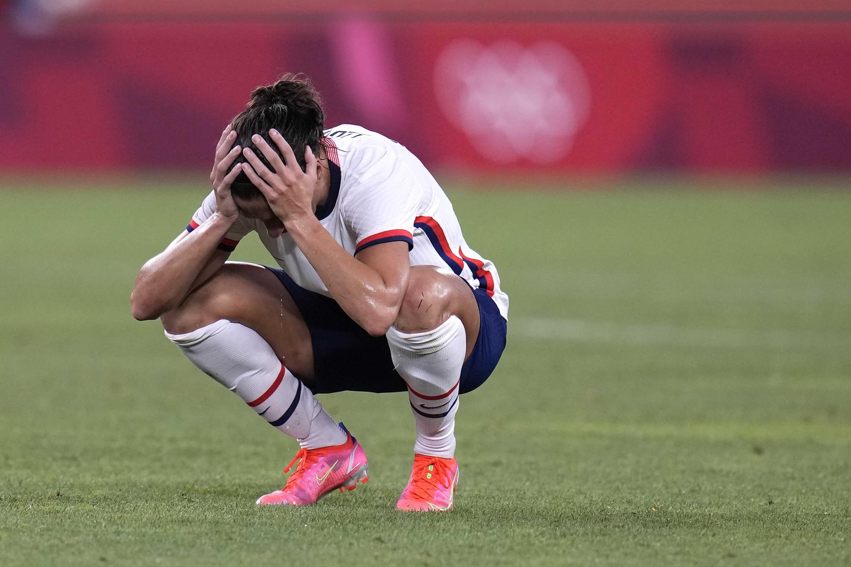 Megan Rapinoe: 'It sucks,' says forward as USWNT beaten by Canada in semifinals at Tokyo 2020