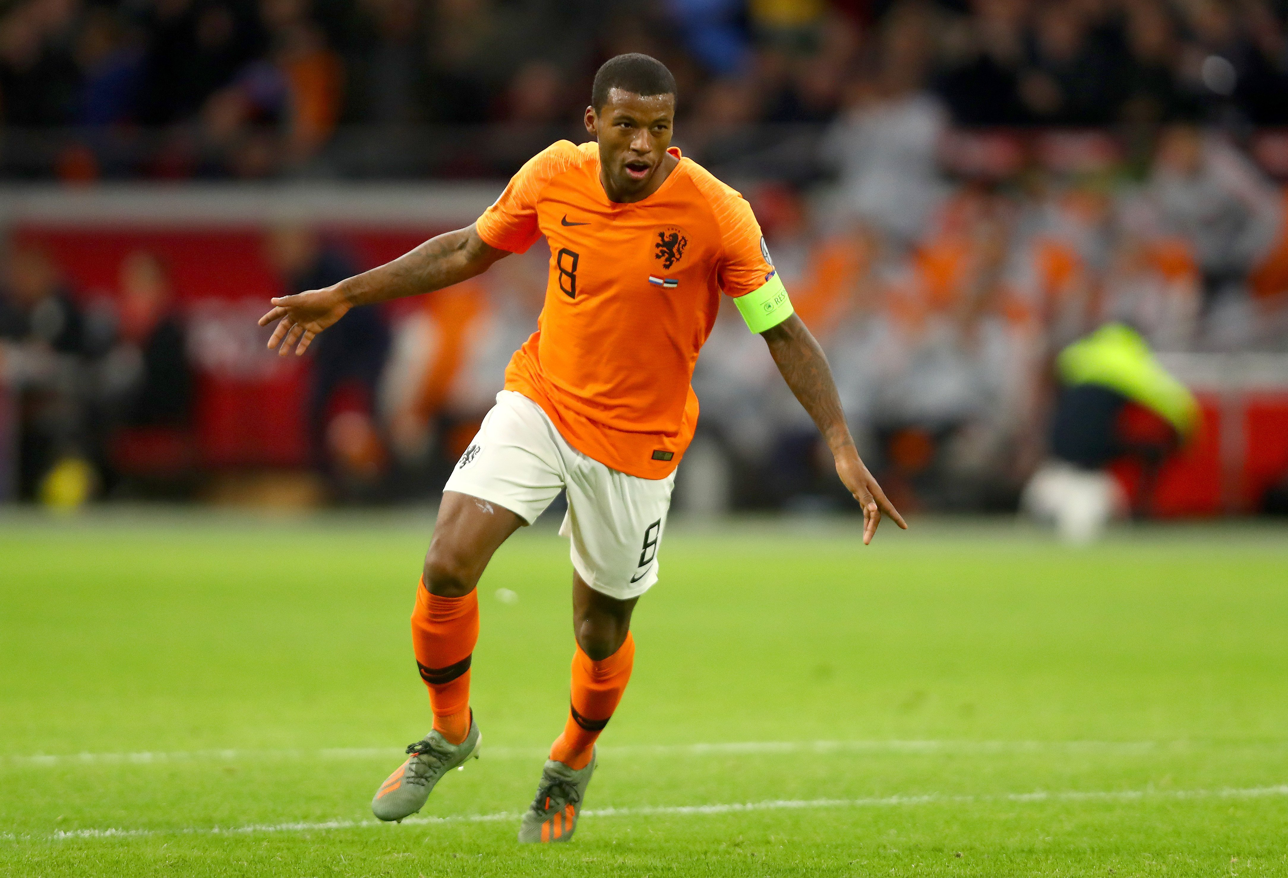 Georginio Wijnaldum is ready to walk off pitch if subjected to racist abuse