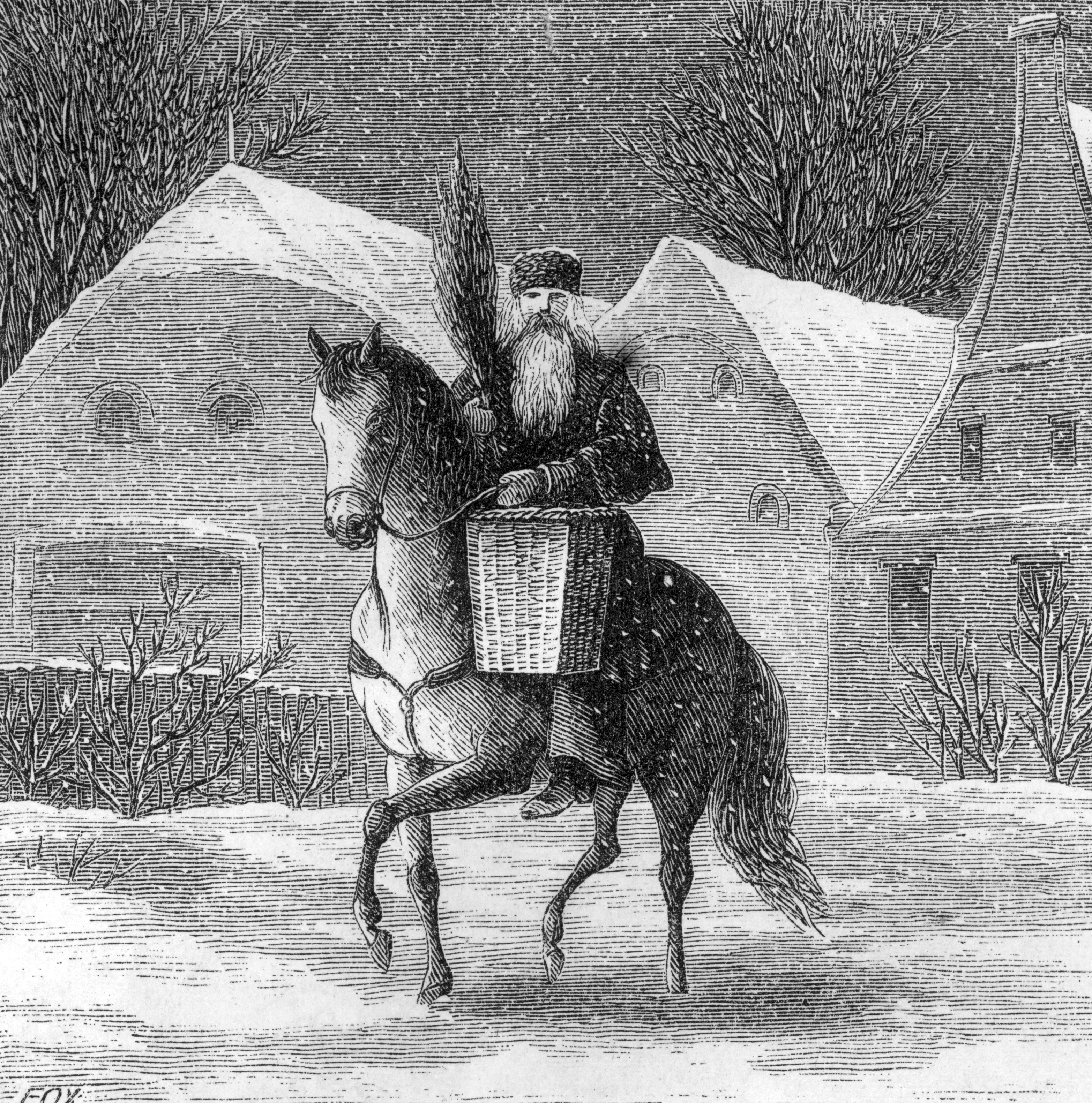 The story behind Santa Claus from St. Nicholas to today's jolly gift-giver