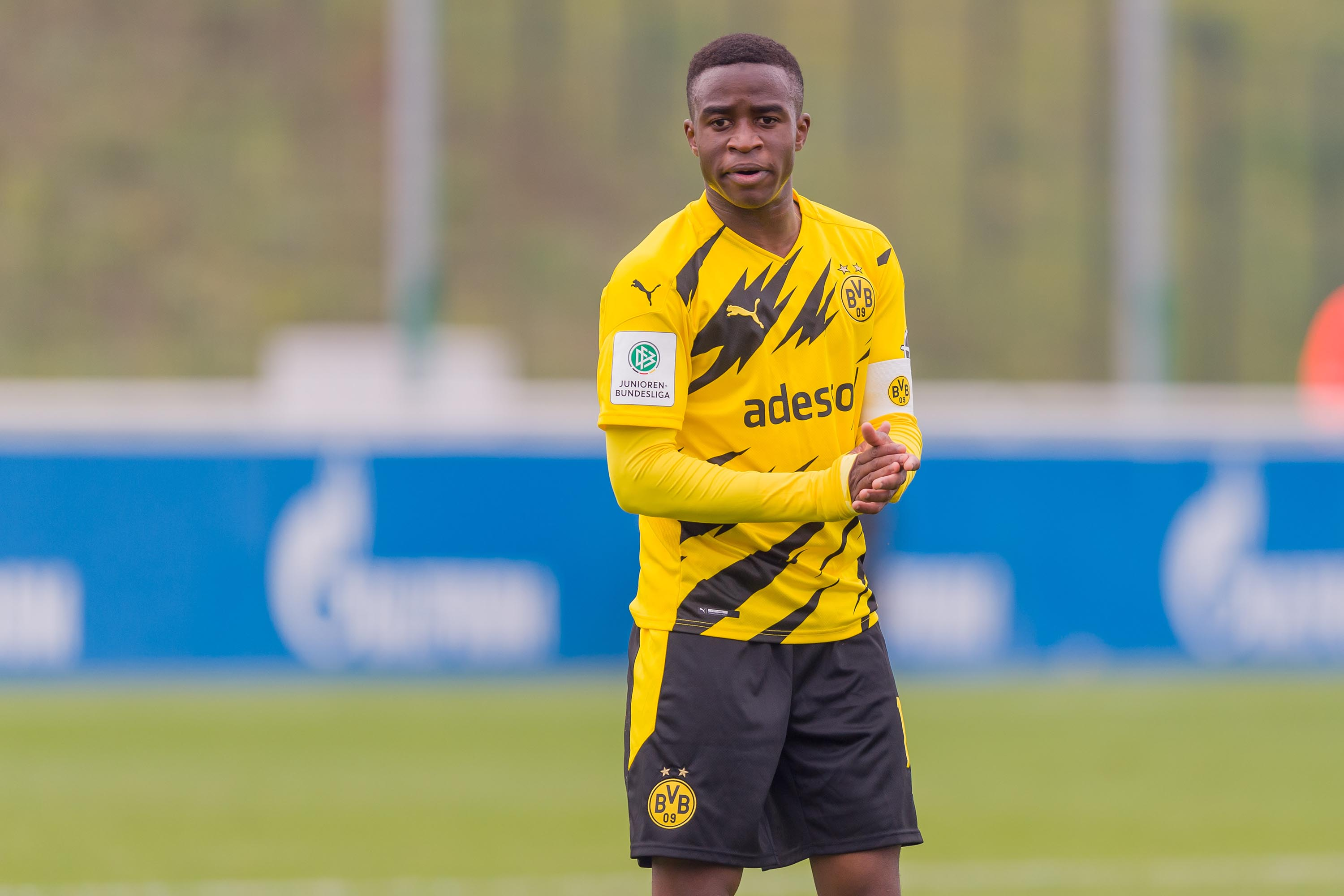 Schalke apologizes after fans racially abuse Borussia Dortmund's 15-year-old star Youssoufa Moukoko