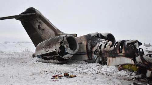 Image for Two bodies recovered from crashed US military aircraft in Afghanistan