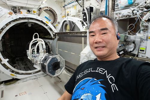 Image for Astronauts Kate Rubins and Soichi Noguchi conduct 4th career spacewalk