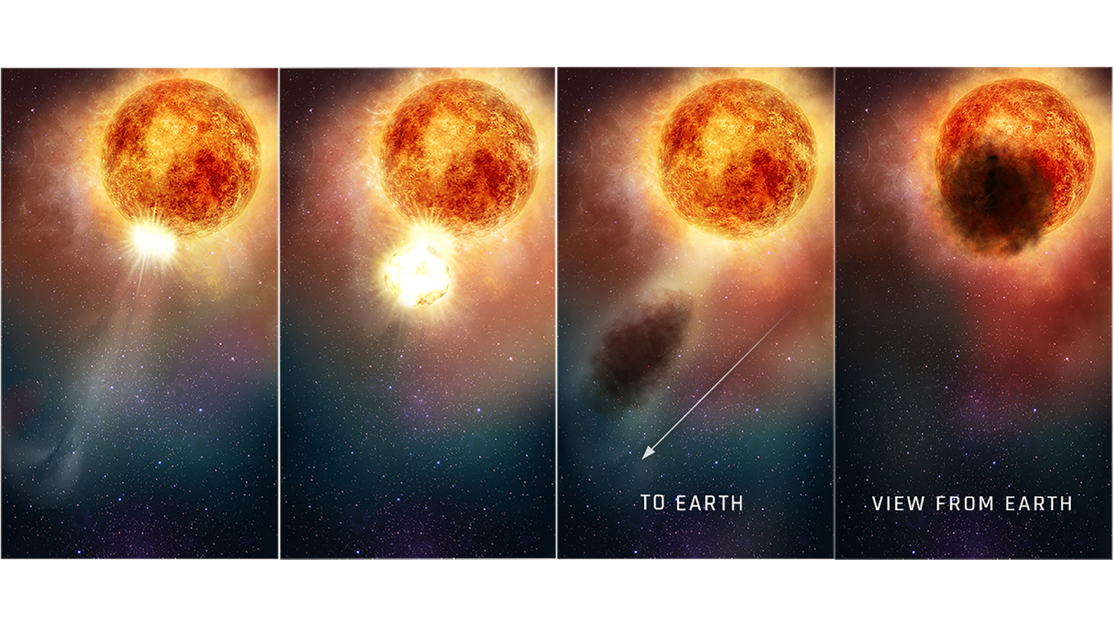 Hubble spies the culprit behind Betelgeuse star's dimming. And it may be happening again