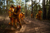 Instead of being home for the holidays, Canadian firefighters head to Australia to battle wildfires