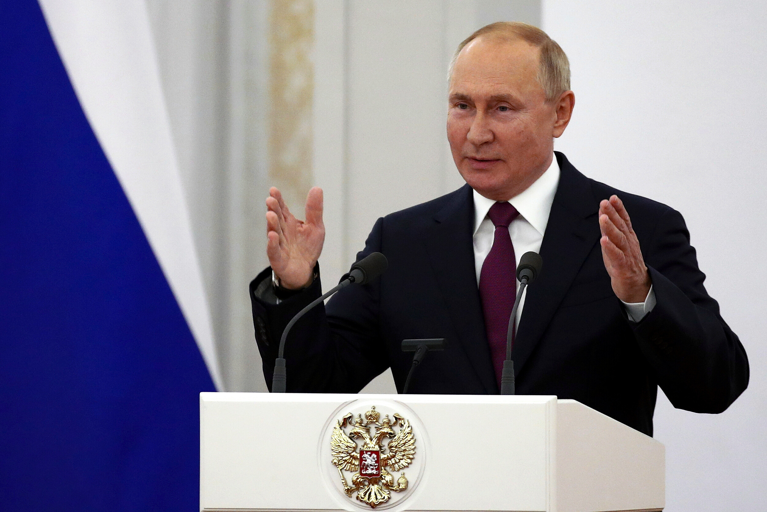 Putin says Russia needs to speed up vaccination for Covid-19