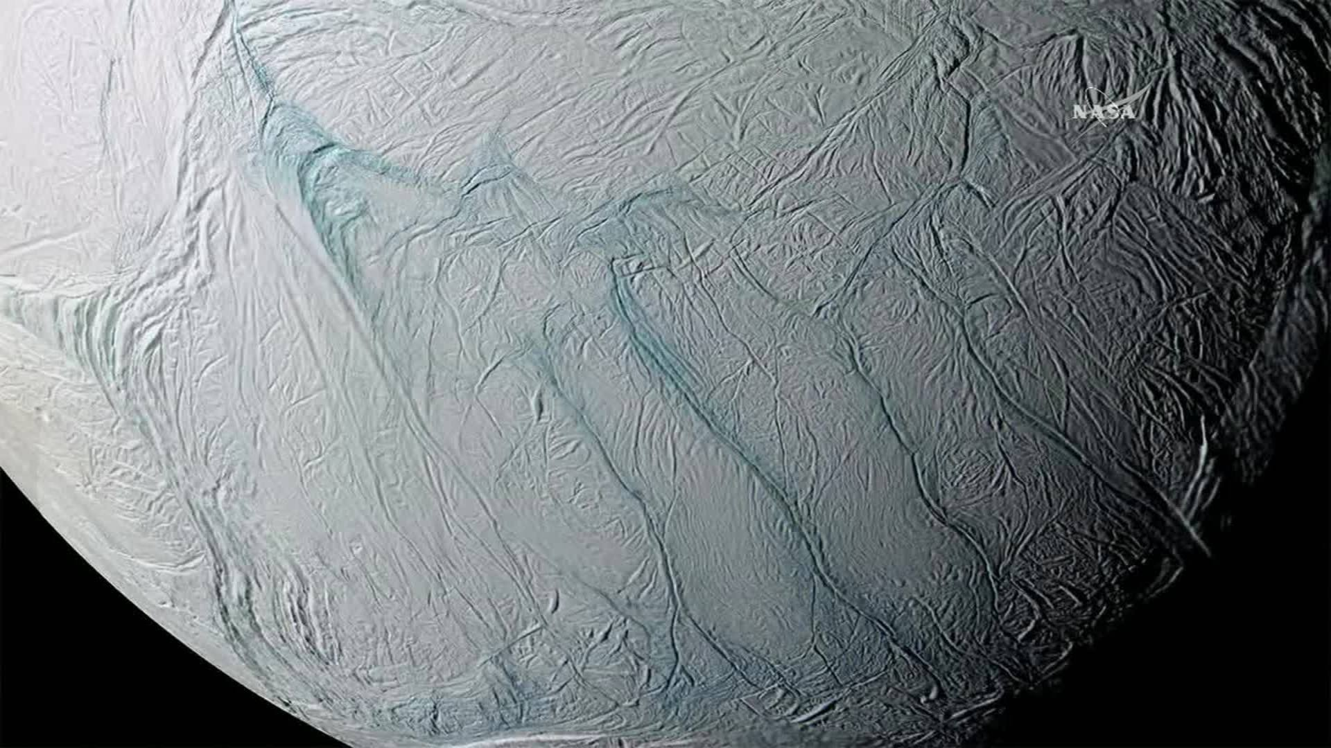 How did Saturn's moon get its tiger stripes? A 'just so' space story