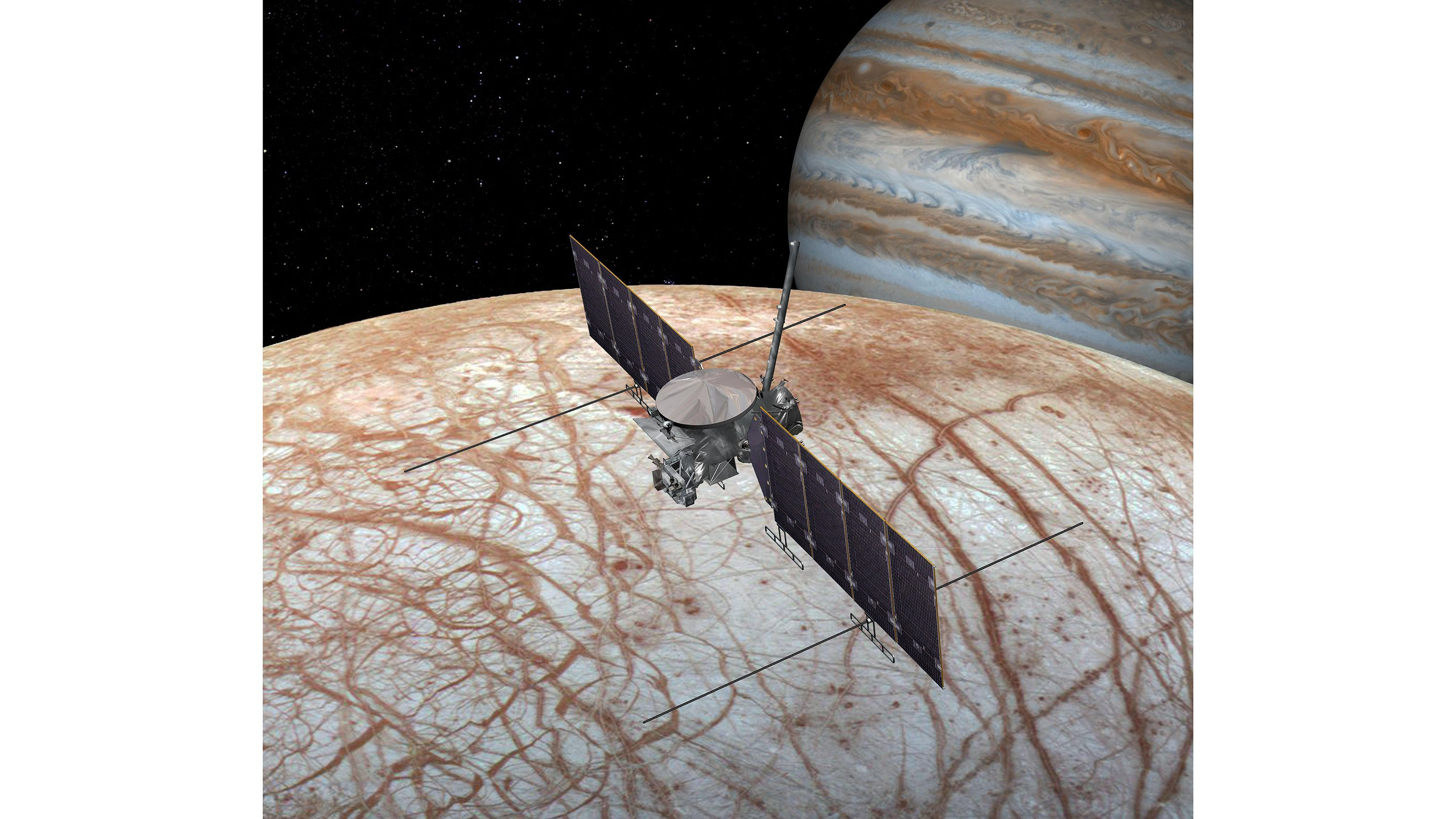 Water vapor detected on Jupiter's moon Europa, adding intrigue to potential for life