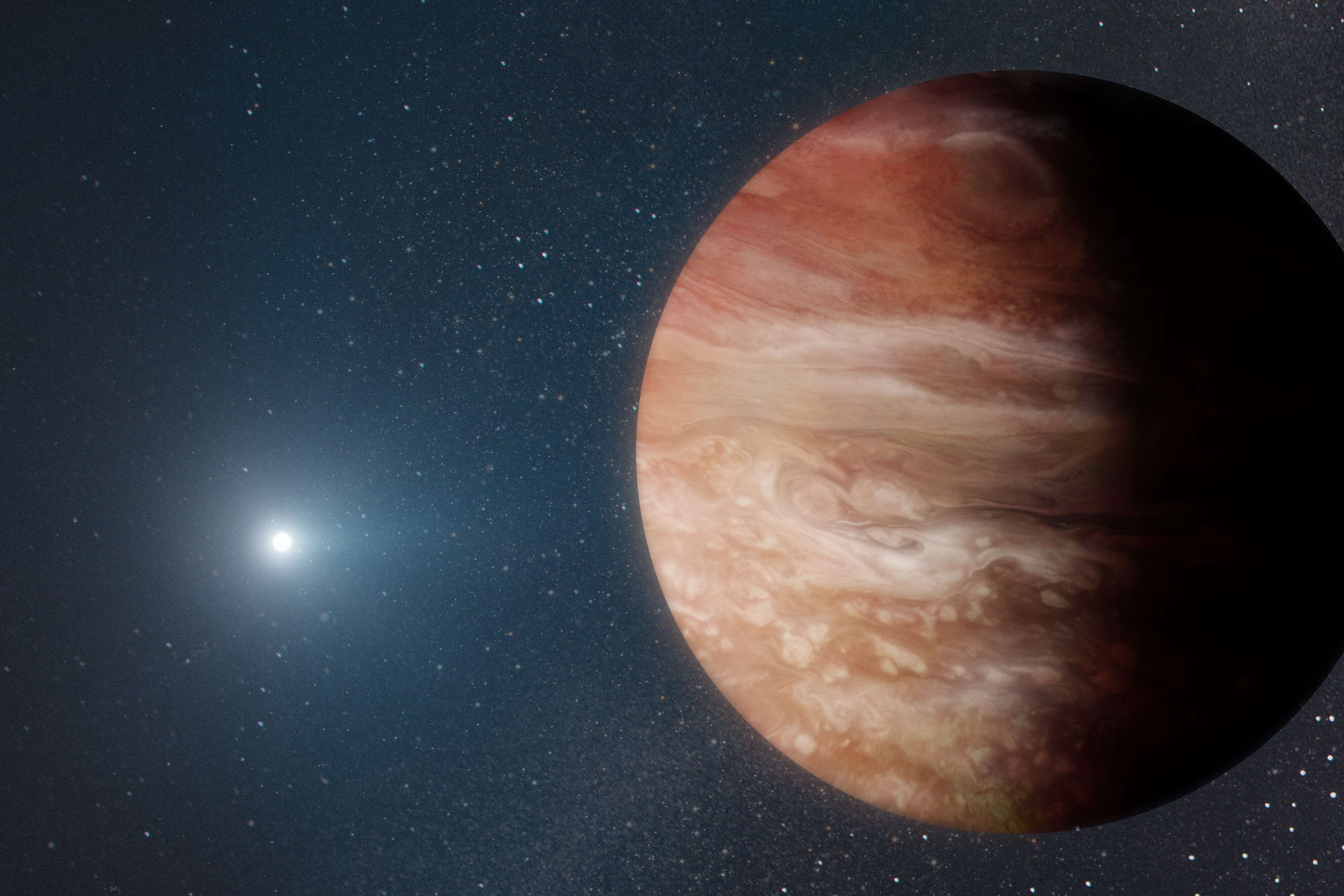 Giant planet found orbiting a dead star shows what may happen when our sun dies