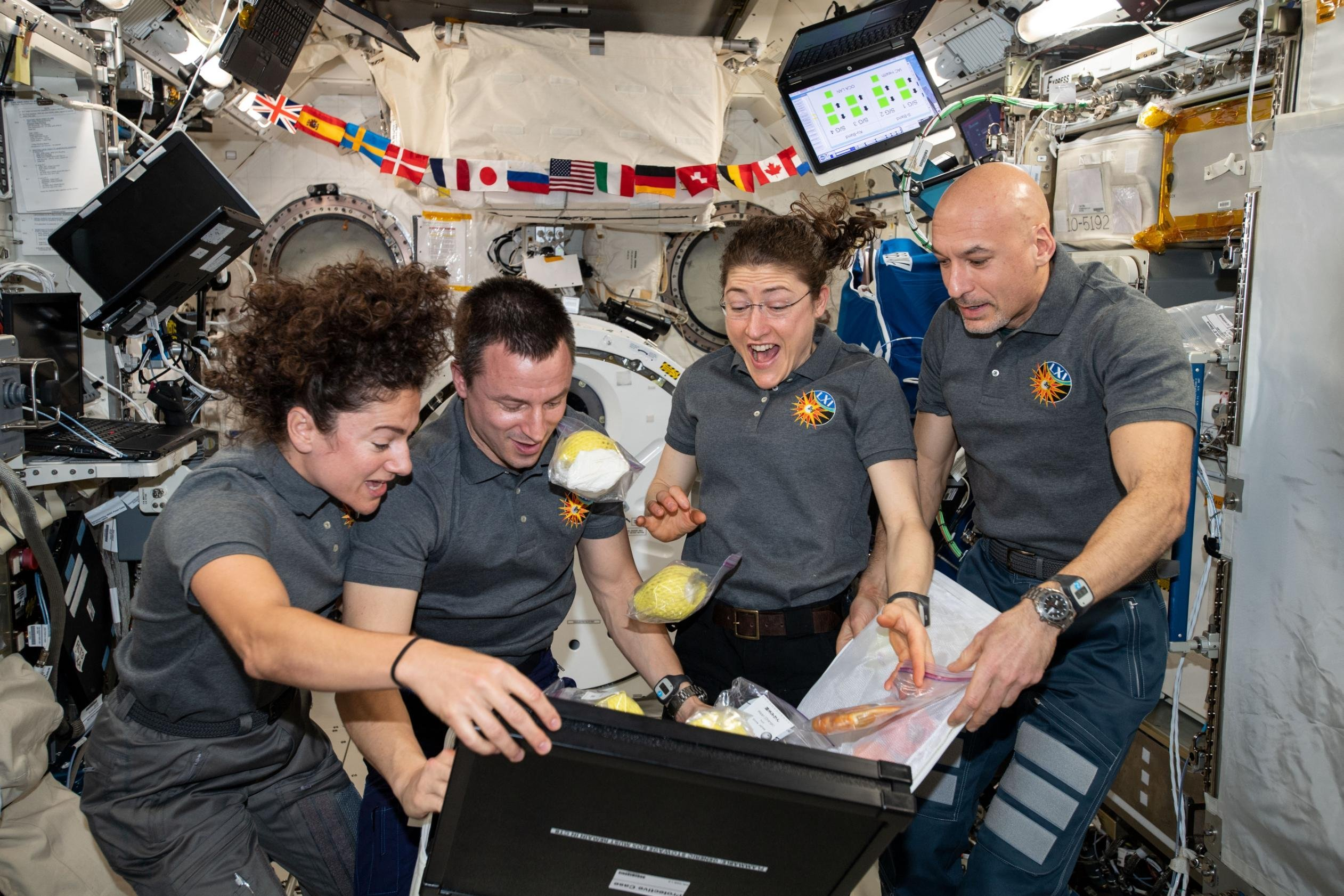 What's it like to live on the International Space Station?
