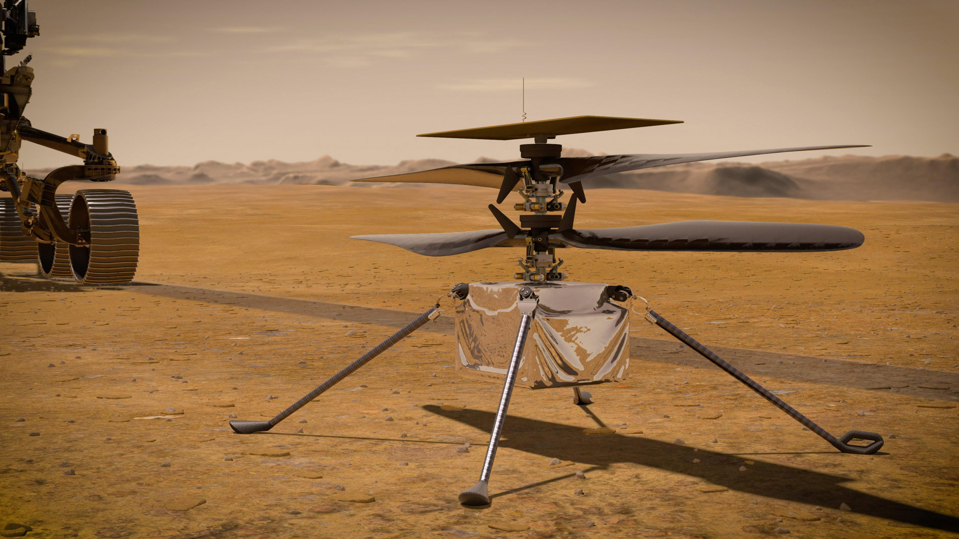 Ingenuity helicopter phones home from Mars
