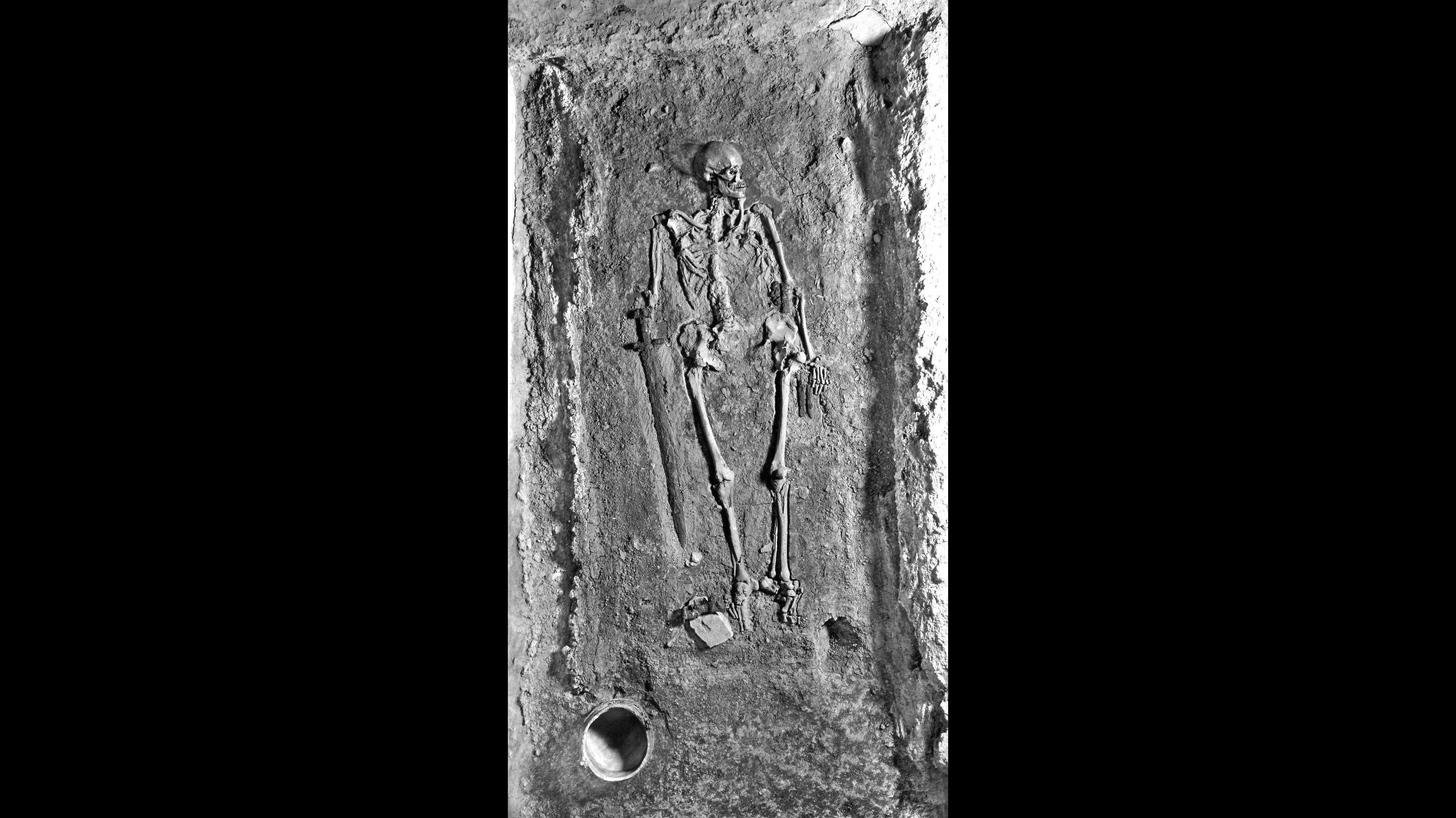 Scientists try to crack the mysterious case of a medieval skeleton once used as Nazi propaganda