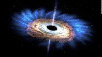 Astronomers spot 'unprecedented' bright flashes in our galaxy's black hole
