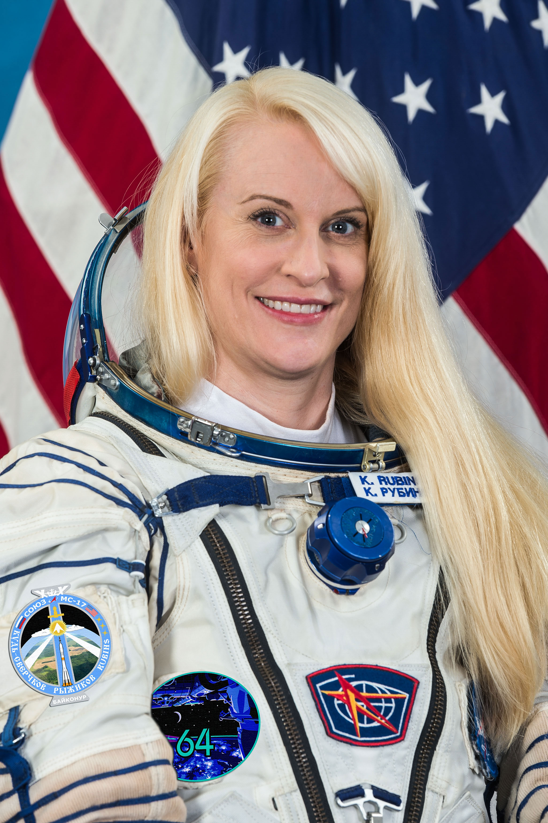 NASA astronaut Kate Rubins is ready for a 2nd 'bucket list' trip to the space station