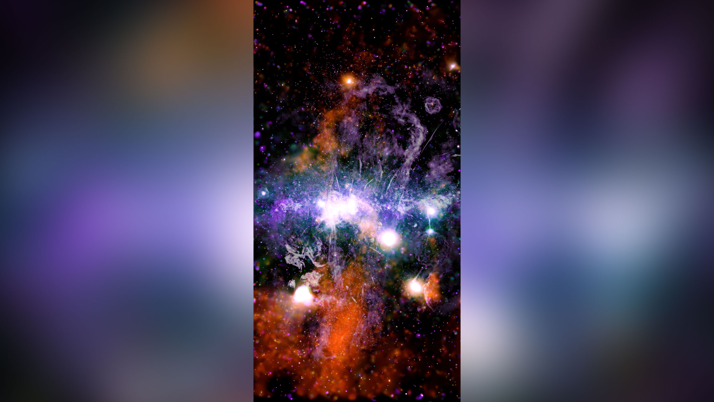 New NASA photo shows our galaxy's 'violent energy'