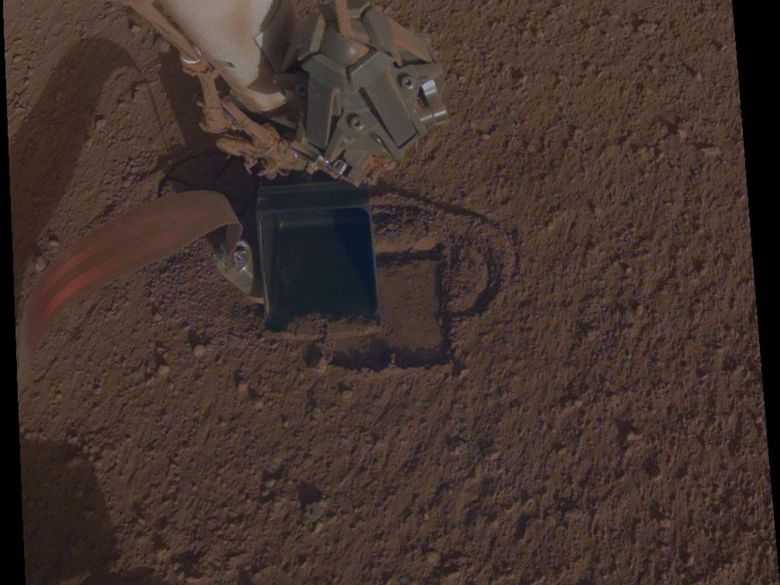 InSight mission is digging into Mars again