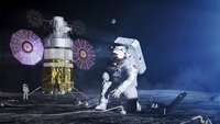 These are the new spacesuits for the first woman and next man on the moon