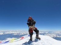 As he scaled world's 14 highest peaks, Nepalese climber shocked by climate change effects
