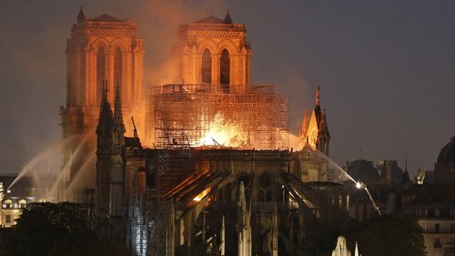 Image for Notre Dame Cathedral to hold first mass since fire