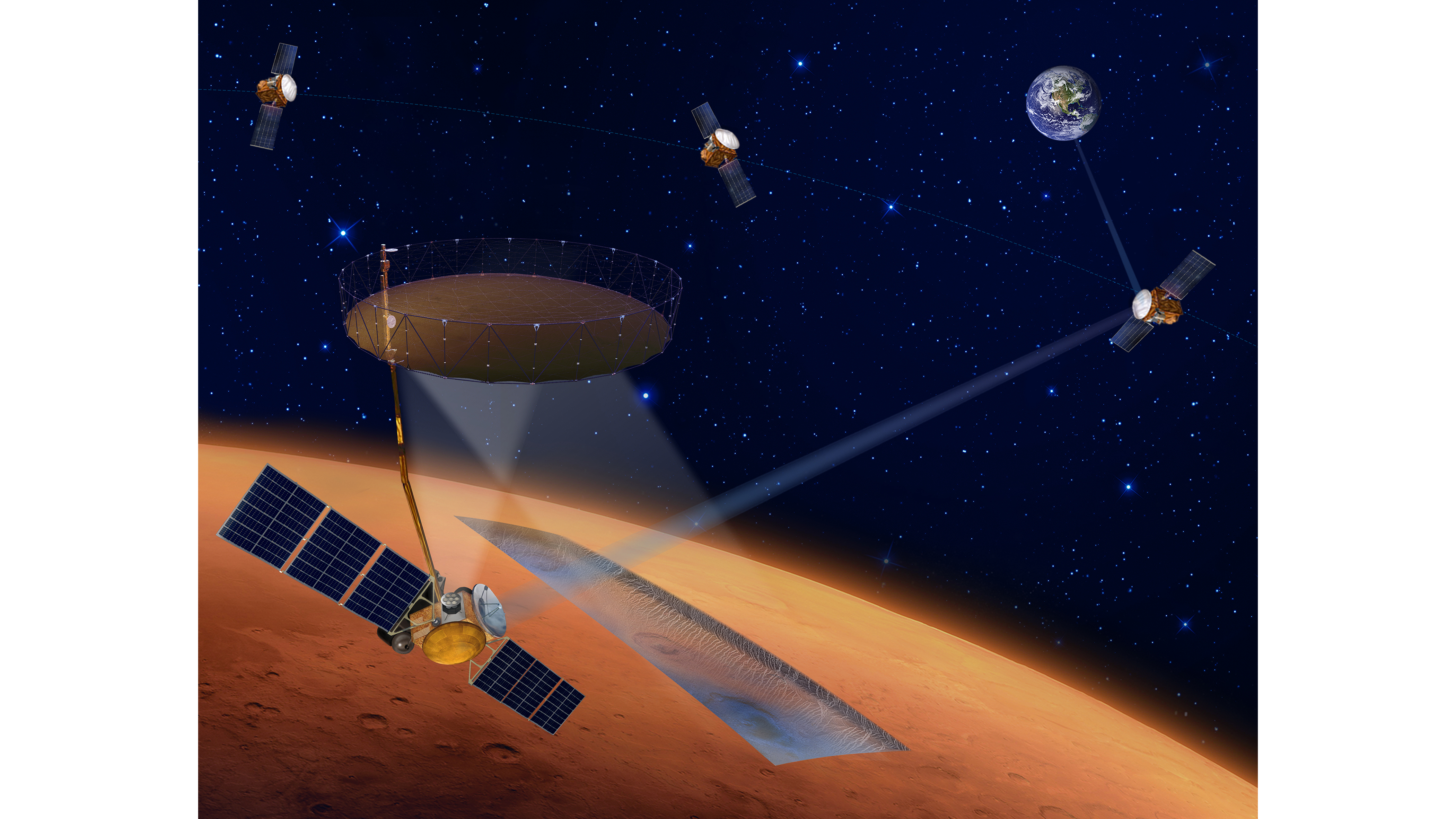 Orbiters could find ice on Mars for future human missions