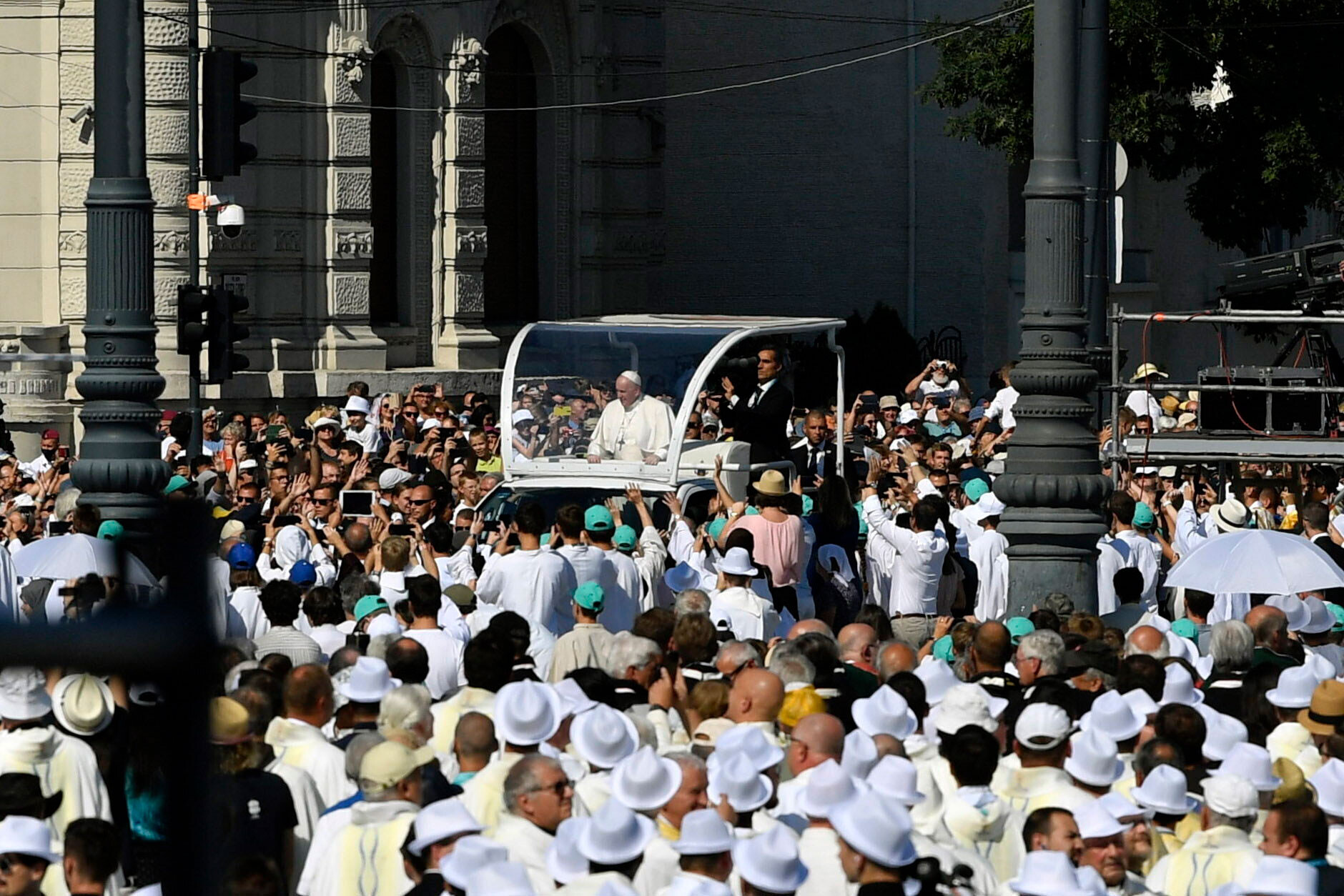 Orban gives Pope a loaded gift during visit to Hungary