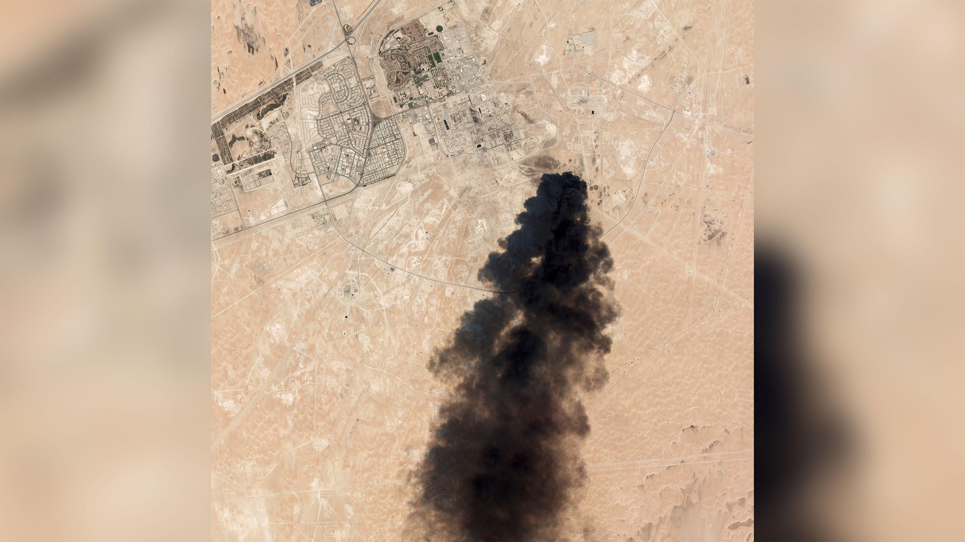 Trump says it looks like Iran was behind Saudi oil field attack
