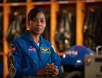 Astronaut Stephanie Wilson is the voice of Mission Control for the all-female spacewalk