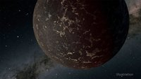 Like Mercury, a nearby 'lava world' is probably lacking an atmosphere