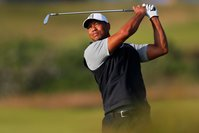 Tiger Woods was seen grimacing after teeing off at the British Open and fans are concerned about his health