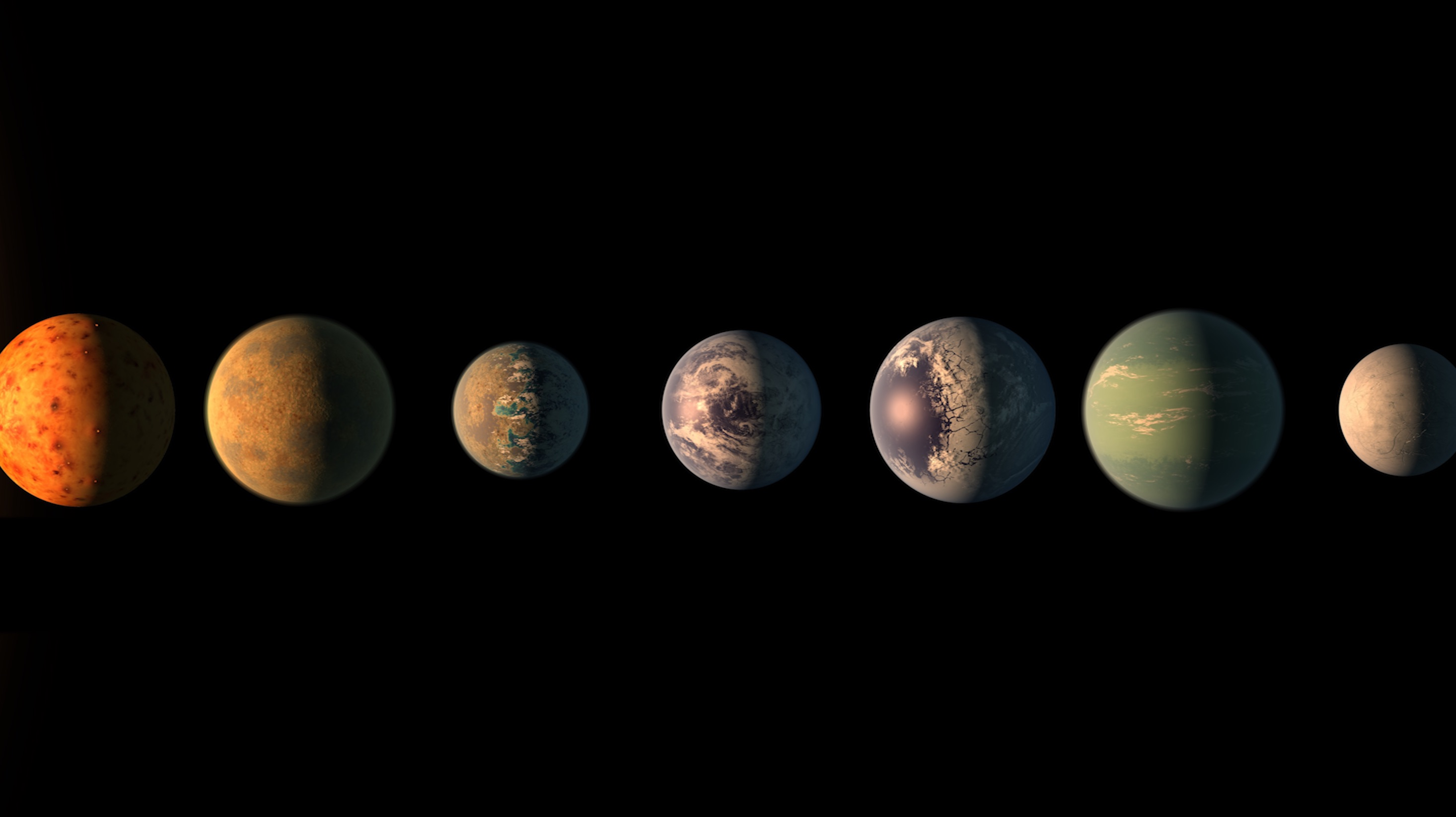 These 7 Earth-size exoplanets named after beer may be incredibly similar