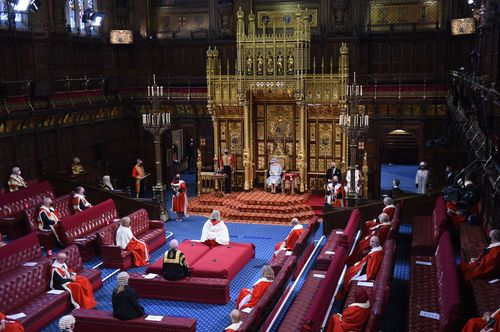 Image for The Queen opens UK Parliament in her first major event since Philip's death