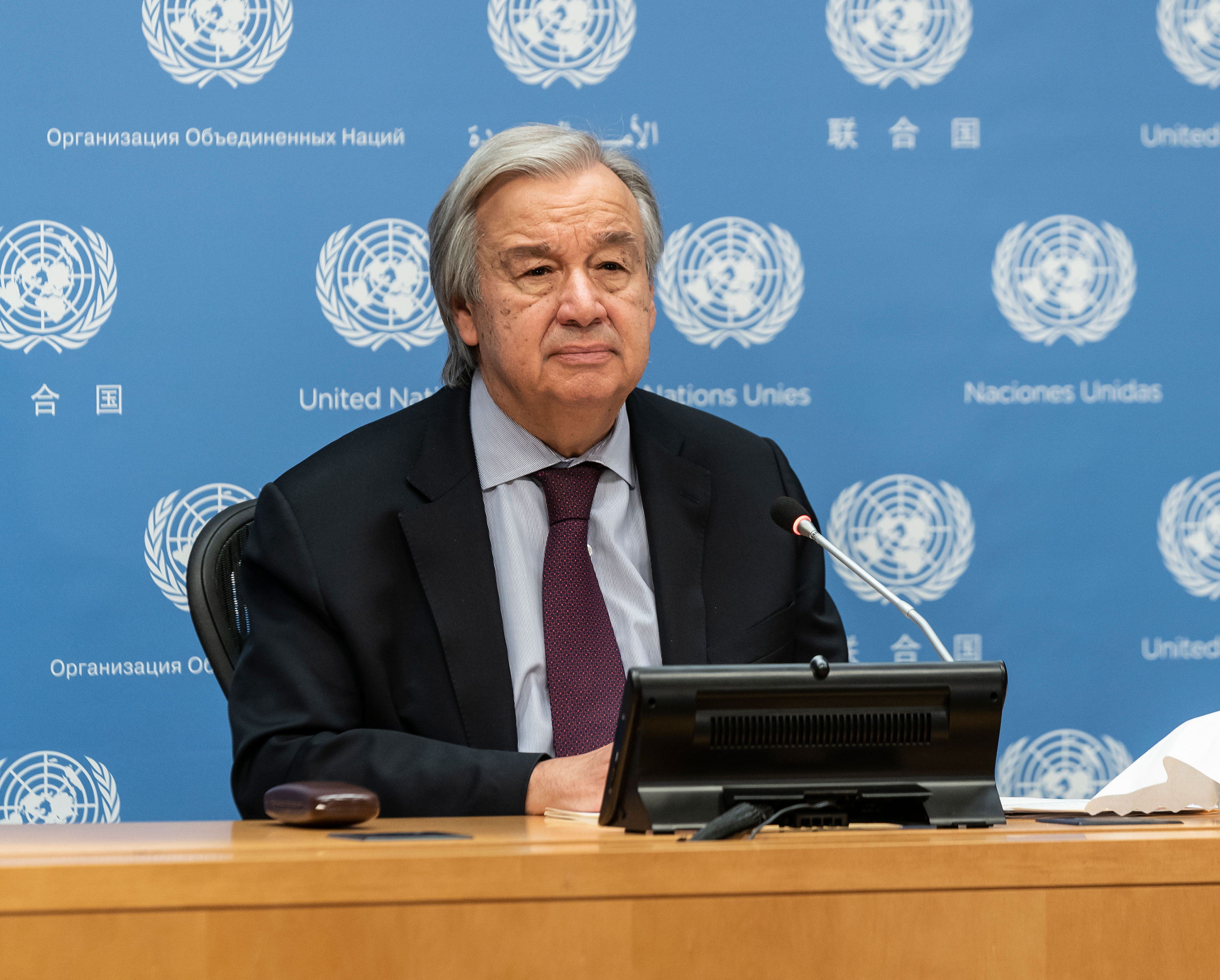 Humanity is waging a 'suicidal' war on nature, UN chief warns