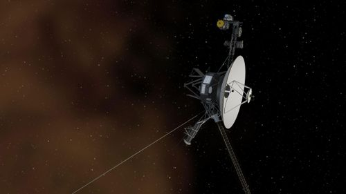 Image for Voyager spacecraft detects 'persistent hum' beyond our solar system