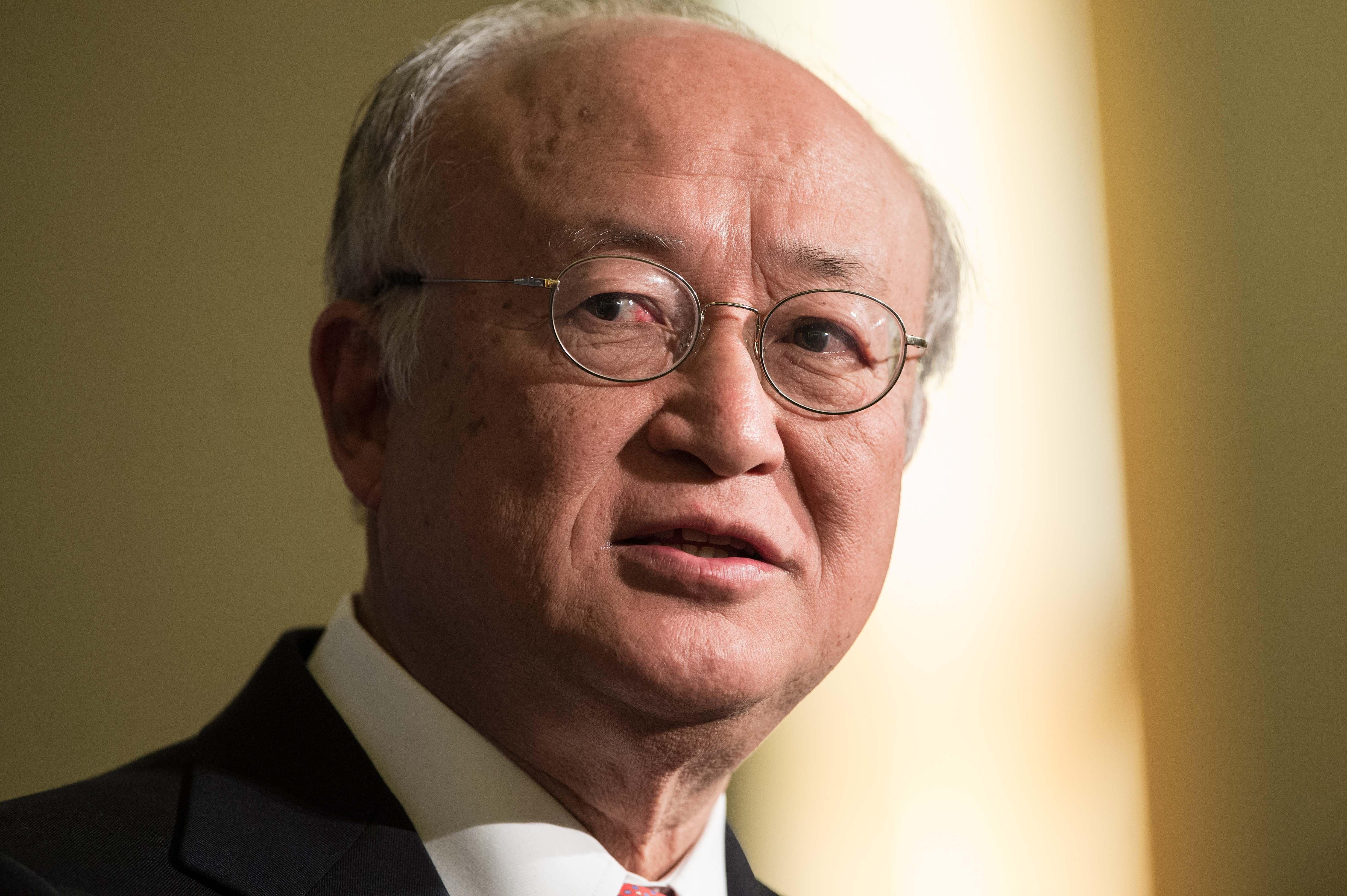 Yukiya Amano, chief of global nuclear watchdog, dead at 72