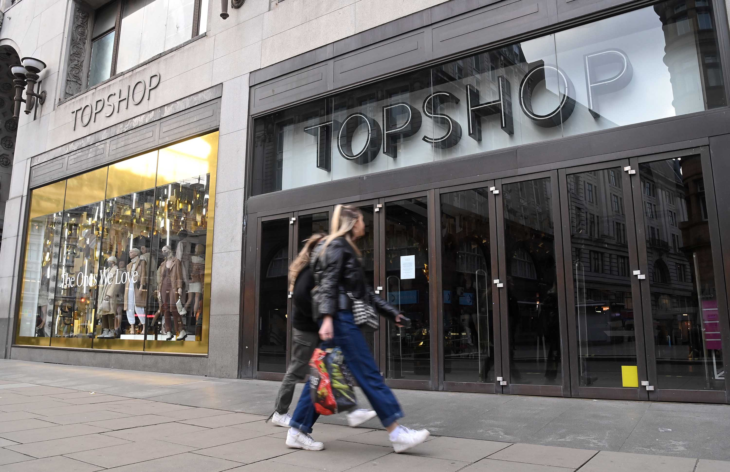 Topshop owner Arcadia files for bankruptcy