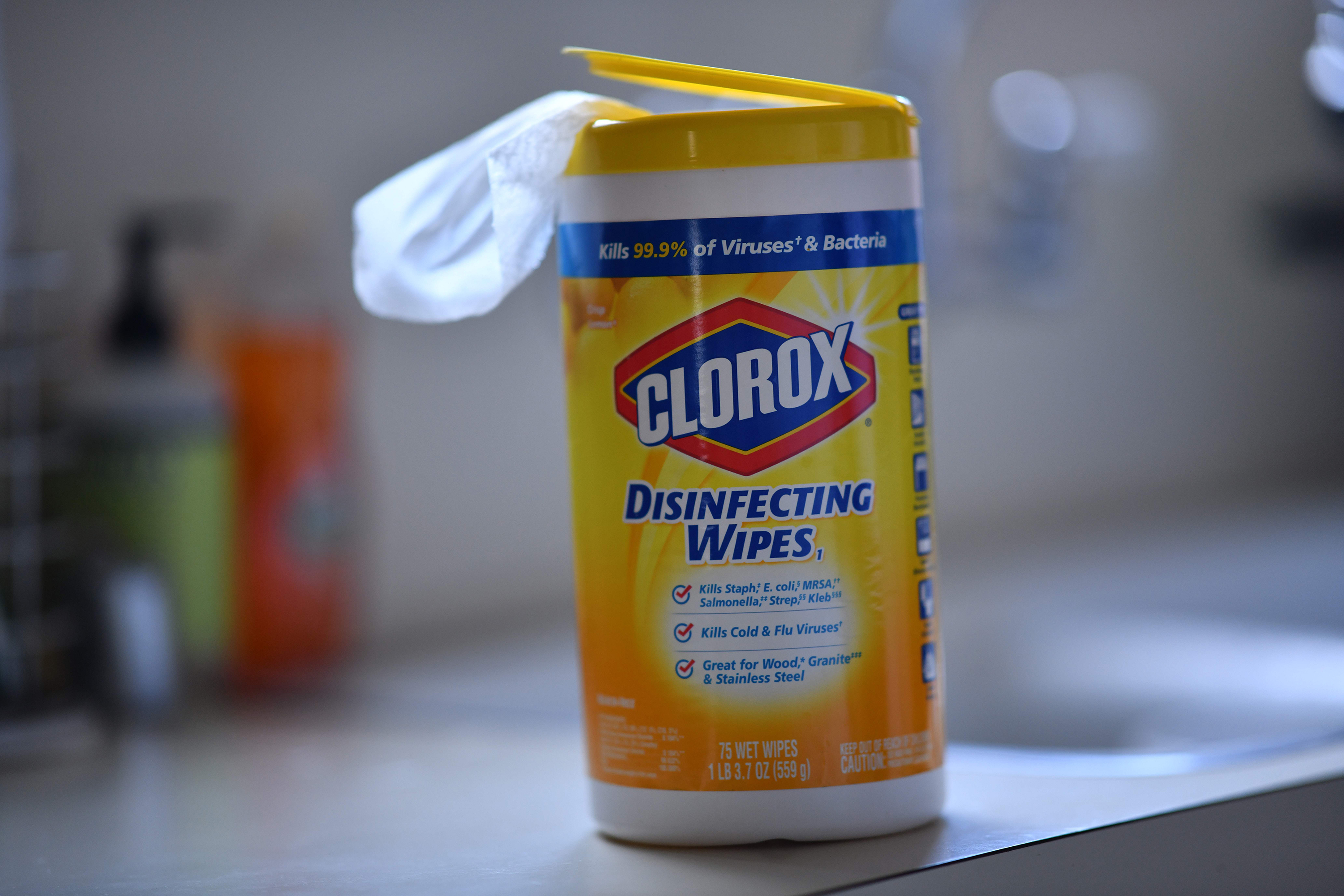 Clorox stock is getting wiped out
