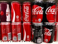Small cans lead to big sales for Coca-Cola
