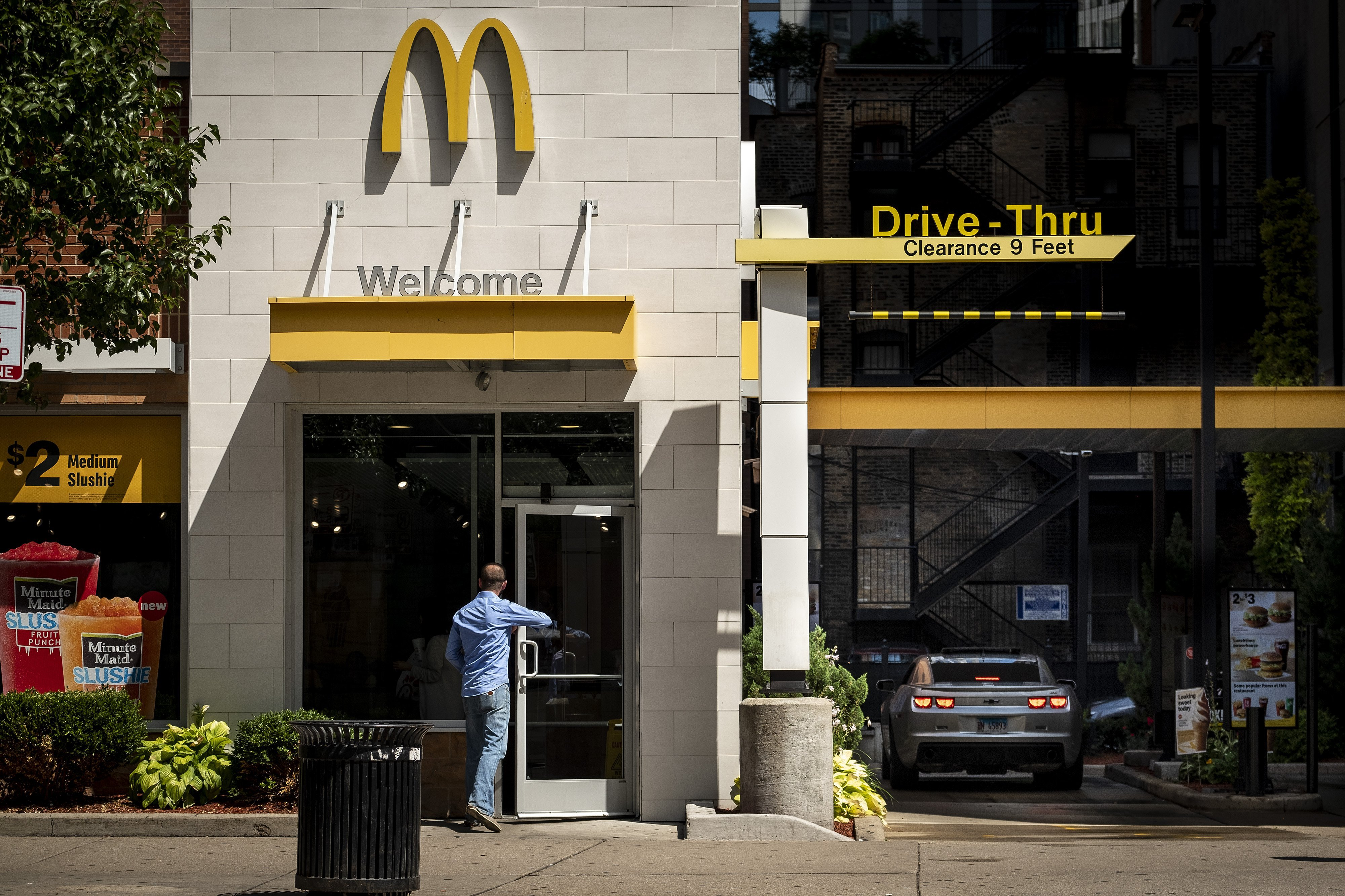 McDonald's shares fall 5% as competition heats up