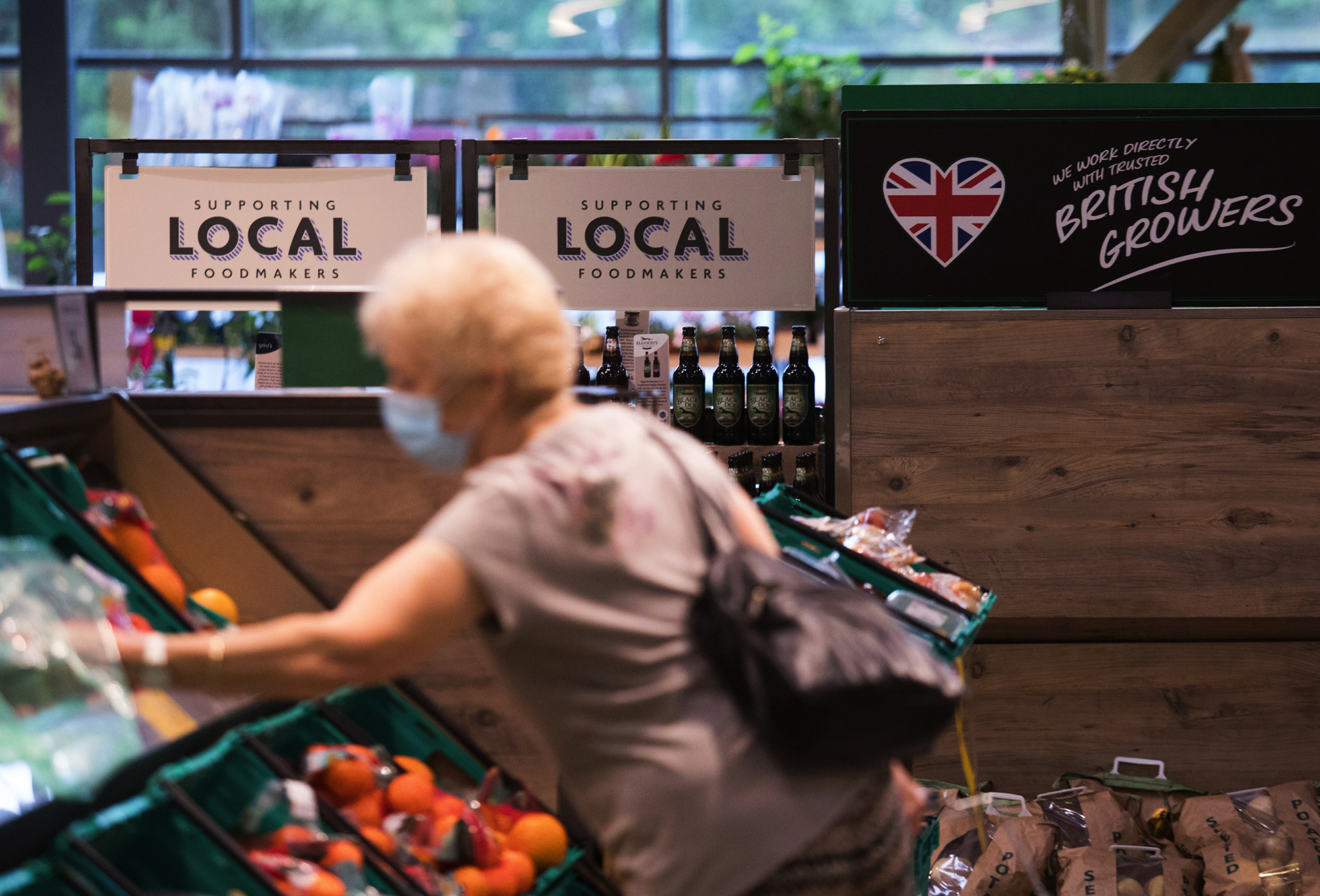 American investors are trying to buy a UK supermarket. Here's why